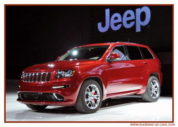 Jeep Grand Cherokee SRT-8 2012