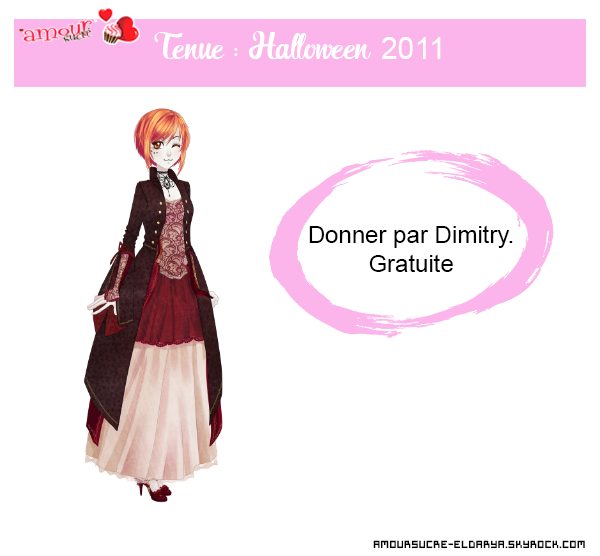 [Amour Sucré] - Halloween 2011. (Illustration et tenue.)