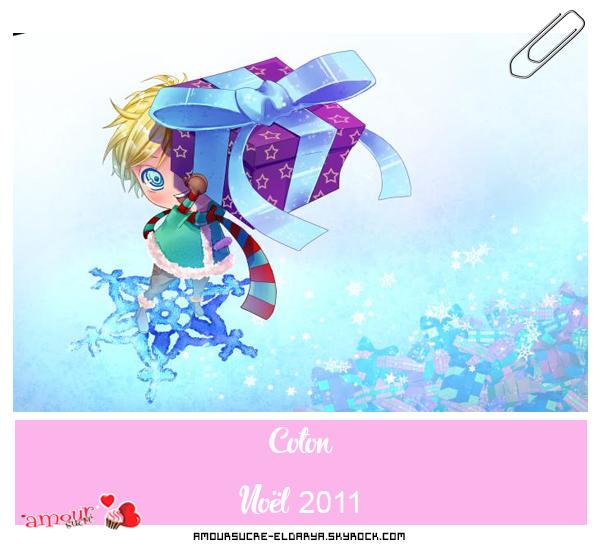 [Amour Sucré] - Noël 2011. (Illustration et tenues.)