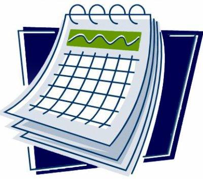 Le calendrier des reservations.