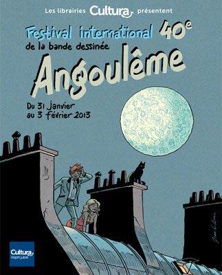 Festival de la BD d'Angoulême 2013.