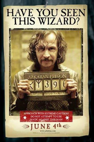 Les élèves de Gryffondor : Sirius Black ( ancien )