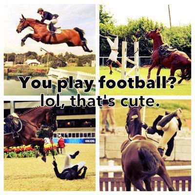 Parce qu'au fond, les cavaliers passionnés restent les gamins qui rêvent de leur poney.♥