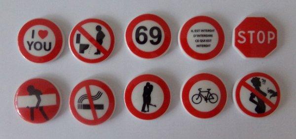 les panneaux interdits