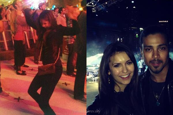 Samedi 06 avril Nina était présente au concert de Muse