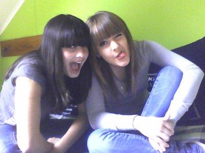 Ma meilleure amie depuis 15 ans ! <3 Tant de bon moments passé avec toi lol je t'aime ma meilleure :) <3