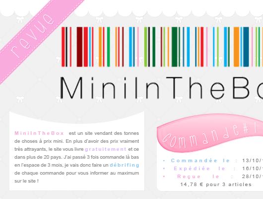 Revue sur MiniInTheBox.com