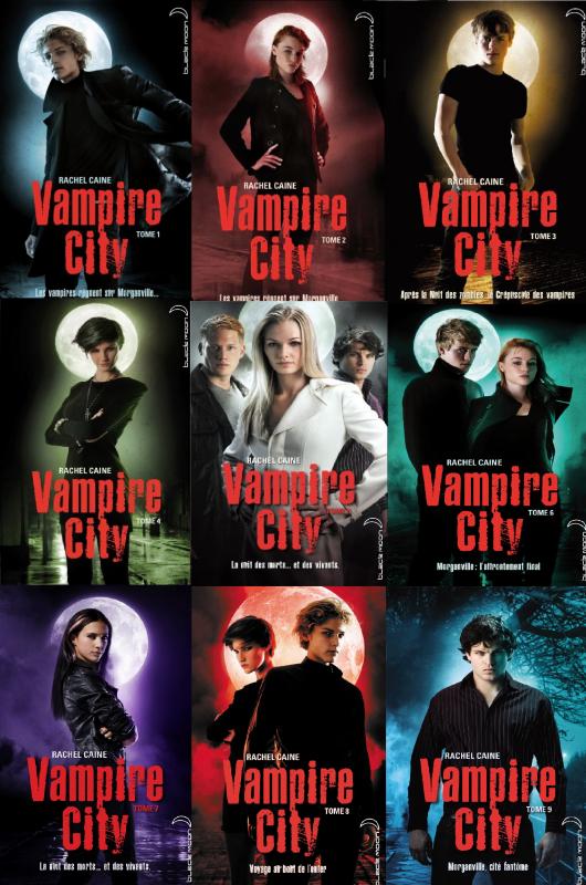 Vampire City avec Shane Eve Claire Michael