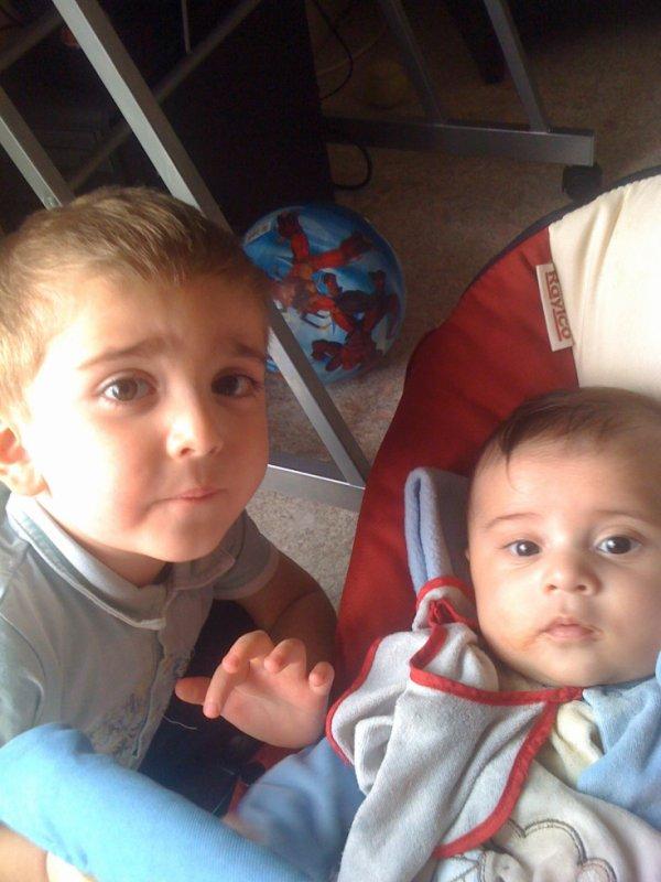 mes deux bébé
