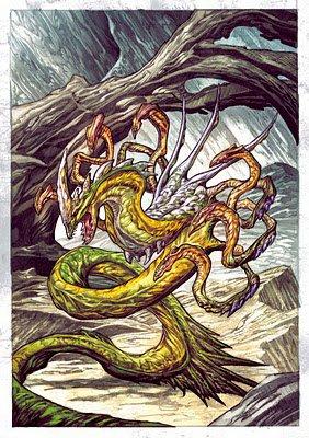 Jörmungandr (parfois francisé en Jörmungand ou Iormungand) est dans la mythologie nordique un gigantesque serpent de mer, attesté dans des poèmes.