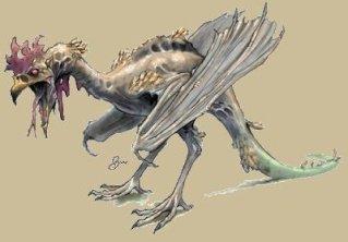 Monstre de coq anal