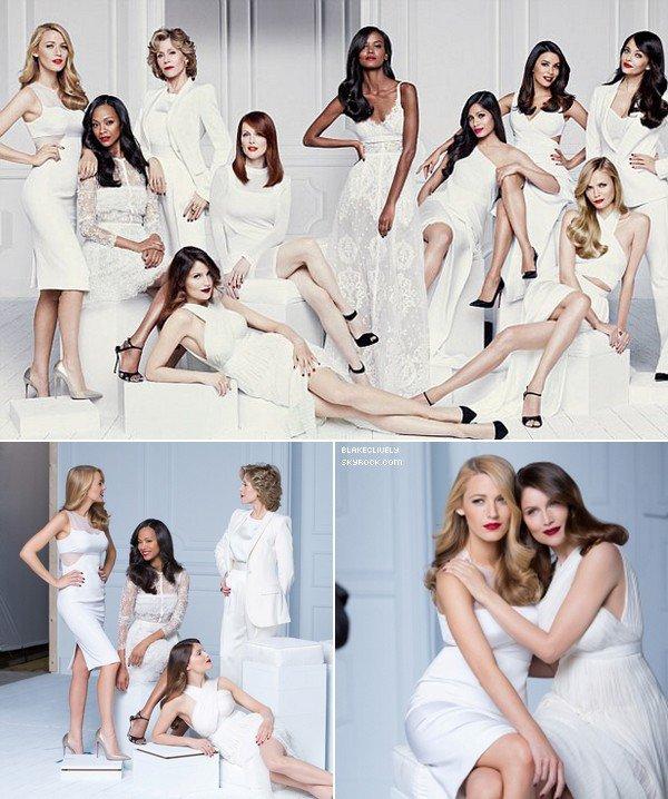 -  OO/O8/2O14 : B. fait partie de l'équipe d'actrices et mannequins de l'Oréal Paris. -