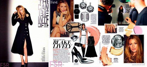-  B. fera la couverture du Marie-Claire Magazine du mois de Septembre. -