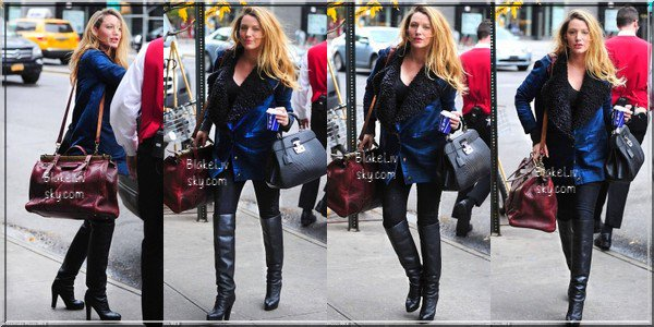 -  13/12/2O14 : B. arrivant au NYC Hotel à New York. -