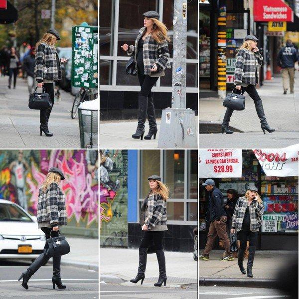 -  11/12/2O14 : B. vue se promenant dans les rues de New York. -