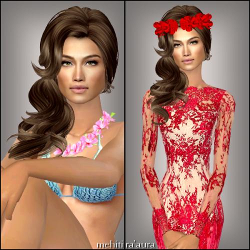 Miss sims Tahiti 2014 (Arue) avec 35.48%