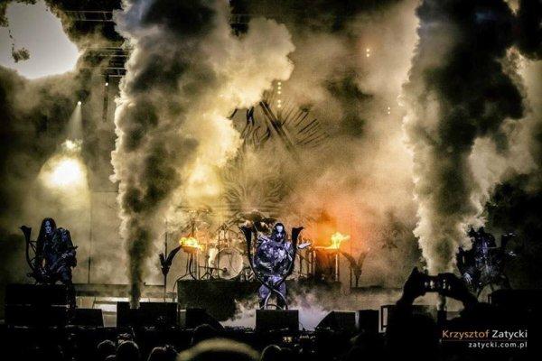 Behemoth en concert chez eux (en pologne)