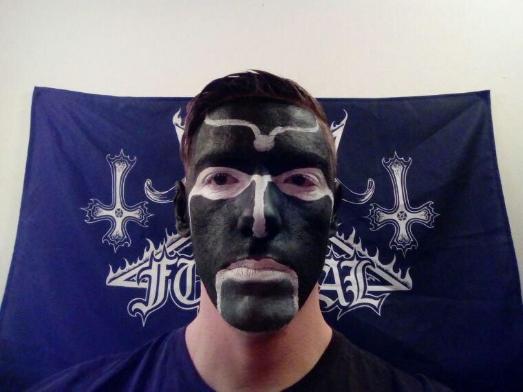 Premier corpsepaint Black Metal