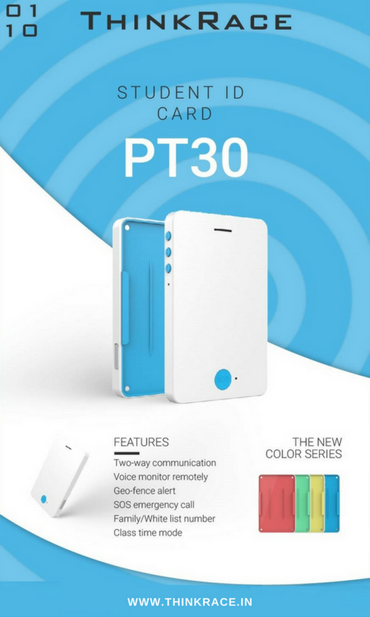 PT30 ID GPS Tracker – For keeping your kids safe