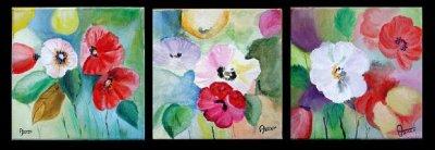 Série de fleurs