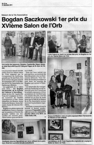 XVIe Salon de l'Orb à Béziers