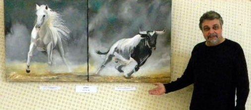 3e Prix de peinture au Salon de l'Orb à Béziers