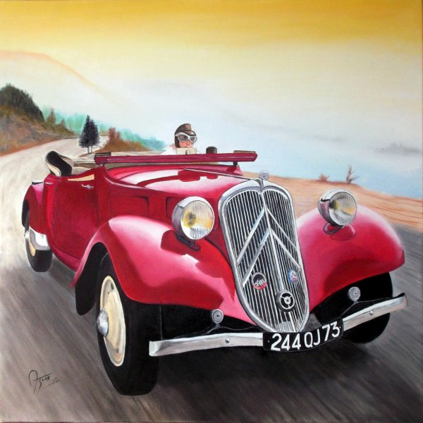 Traction Cabriolet 11B 1938