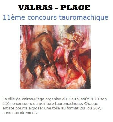 Concours tauromachique de Valras-Plage