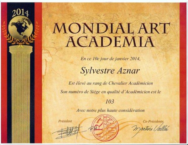 1 er Diplome 2014