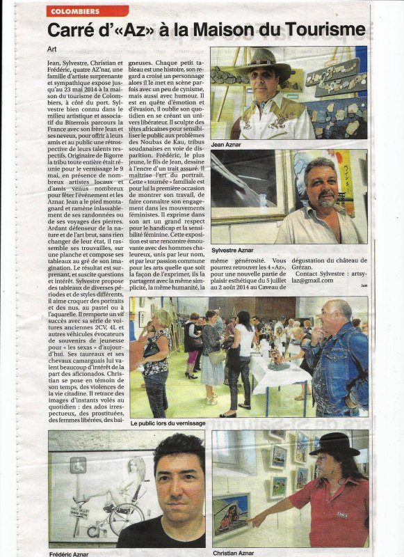 Articles de presse Colombiers