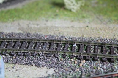 Peinture des rails