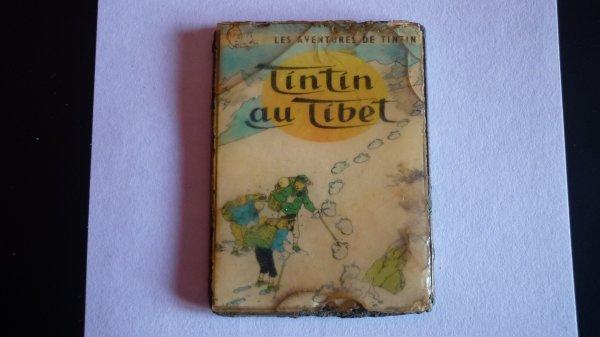"petite plaque  ""TINTIN"""