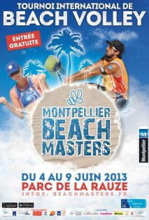 TOURNOI INTERNATIONAL DE BEACH VOLLEY DU 4 AU 9 JUIN 2013