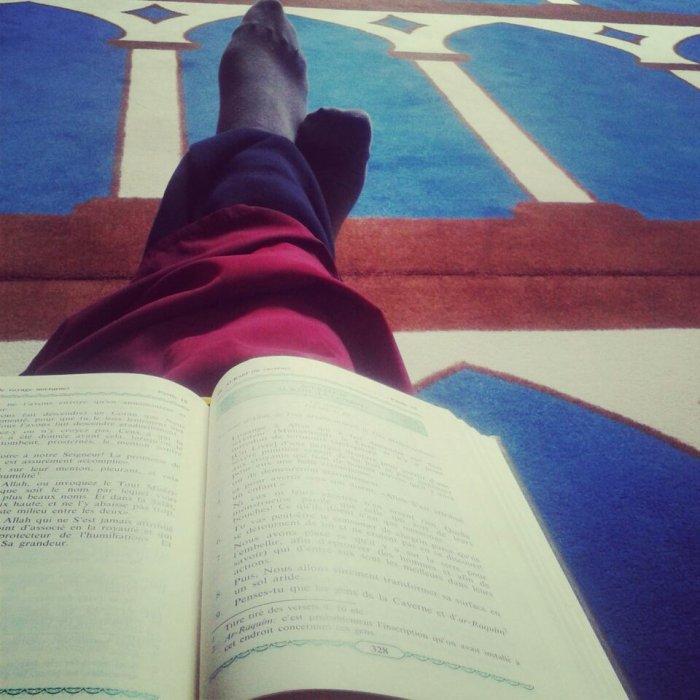 Allah est mon Dieu , L'islam est ma Religion & Mouhamad et mon prophéte <3