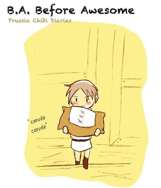 Chibi Prussia Diaries 002