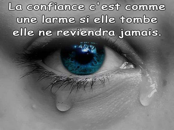 LE COUTEAU QUE TU M AS PLANTE DANS LE DOS, QUELQU UN TE LE METTRA DANS LE COEUR!!!