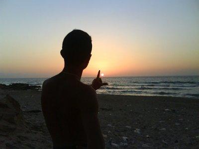 tj   le    lo  pendant le coucher du soleil  (5em b1  sur )
