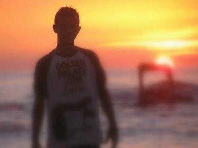 pendant le coucher du soleil  ( 5em )