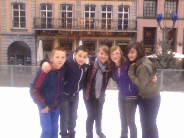*Patinoire 28.12.2011 avec Ryan,Thyler,Cassandra et Amandine