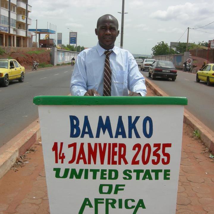 la présidence des etats unis d'afrique en 2035