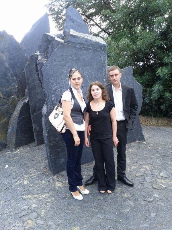 moi, laetitia et mon cousin