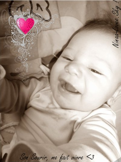 « Mi hijo, mi orgullo, nunca a mi bebé, Te quiero. ♥ »