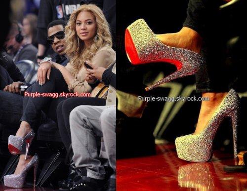 meilleure sélection 7d117 60b74 Beyonce et les Louboutin une longue histoire d'amour ...