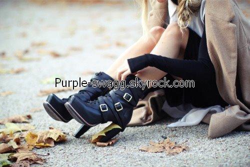 Je suis une grande fada de chaussures !