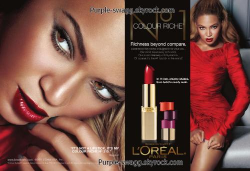 Beyonce for L'Oréal