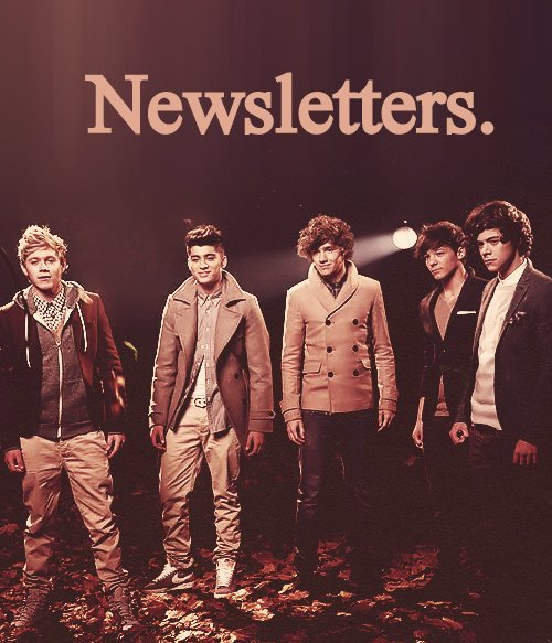 ▄ ▄ ▄ NEWSLETTERS. ▄ ▄ ▄