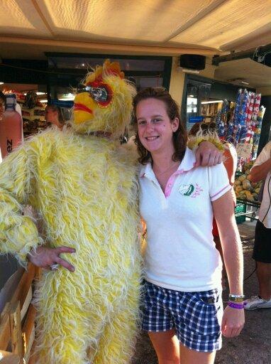 Le poulet...^^
