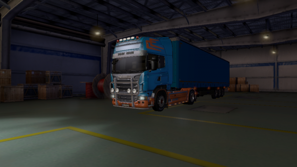 Scania euro truck simulator 2