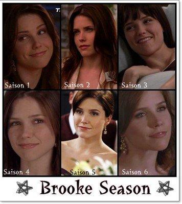 Brooke , Peyton , Haley au fil des Saisons !