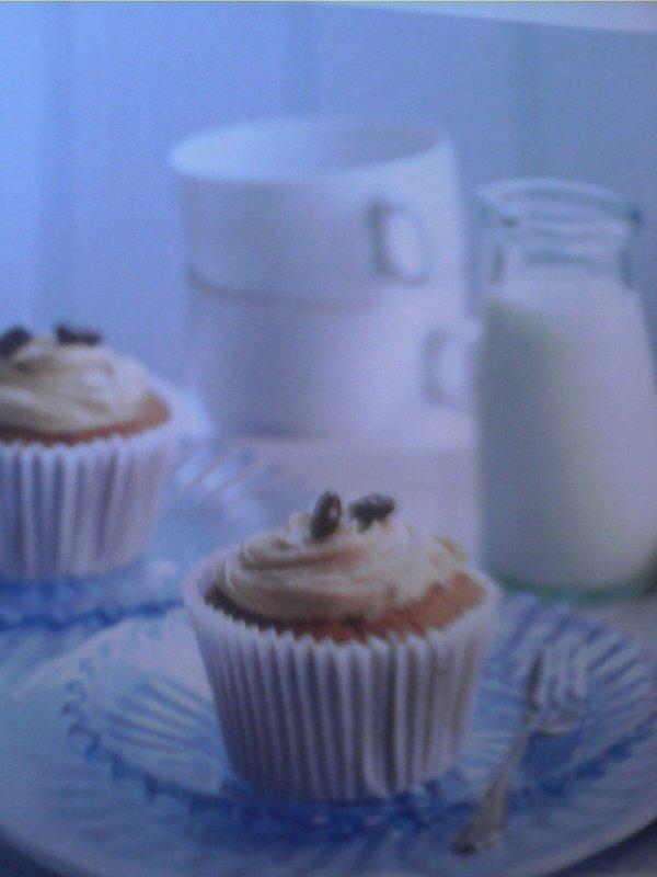 Cupcakes au café